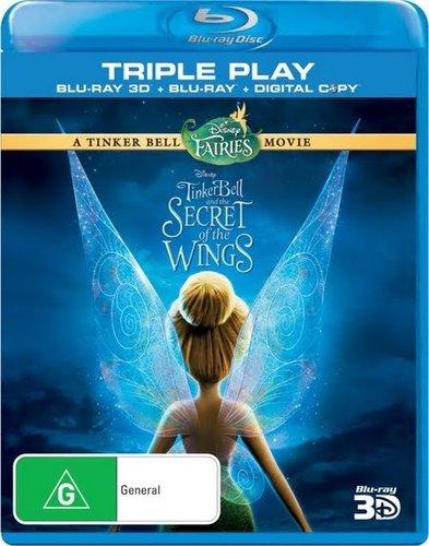 Tinker Bell: Secret of the Wings (2012) BRRip 720p 500Mb