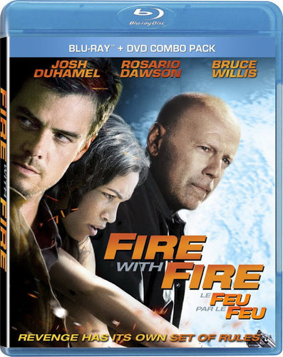 Fire with Fire (2012) BRRip 720p 600Mb