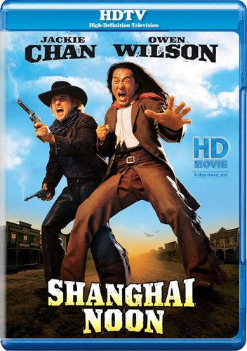 Shanghai Noon (2000) BRRip Dual Audio Hindi Dubbed 350MB