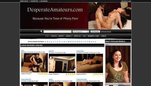 Download DesperateAmateurs.com – SITERIP Free