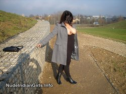 Indian Wife On Honeymoon Showing her Boobs n Ass in Public