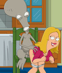 Roger fucking Francine from behind