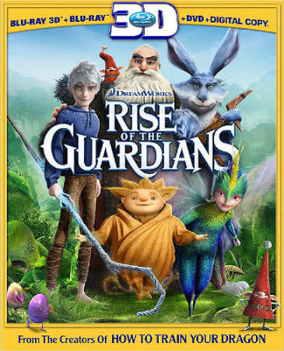 Rise of the Guardians (2012) BRRip 720p 700Mb