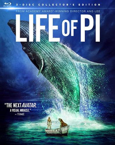 Life Of Pi (2012) BRRip 720p 800MB