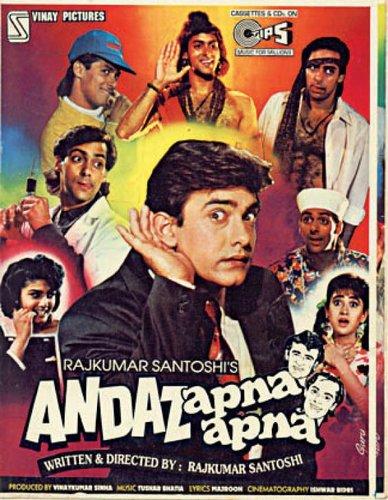 Andaz Apna Apna (1994) DvdRip 550MB