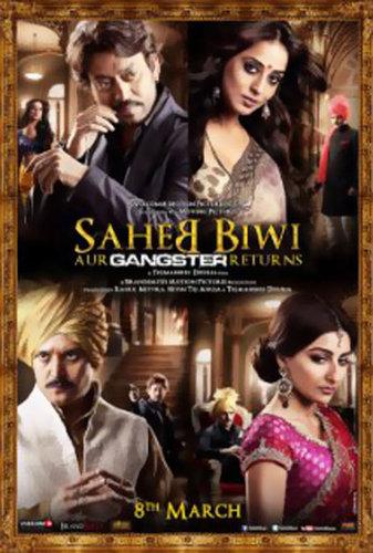 Saheb Biwi Aur Gangster Returns (2013) DvdScr 700MB Download/Watch