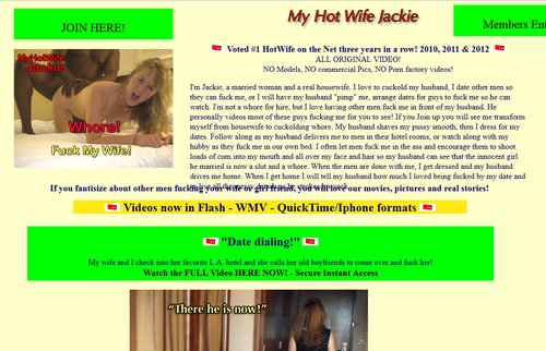 Download MyHotWife.com – SITERIP Free