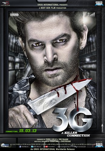 3G – A Killer Connection (2013) DvdRip Download 300MB