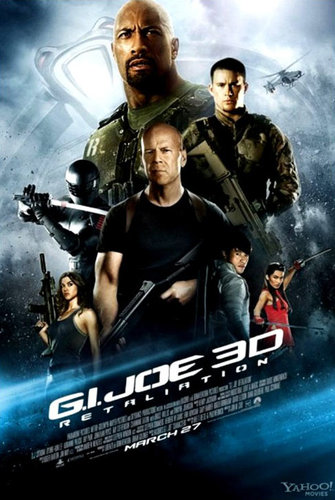 G.I Joe Retaliation (2013) Hindi Dubbed CamRip 600MB