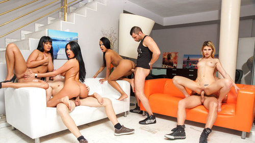 Download CumLouder – Anissa Kate, Claudia Shotz, Jasmine Black & NoeMilk Free