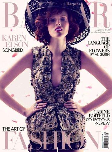 مجلة الإثارة Harper bazaar