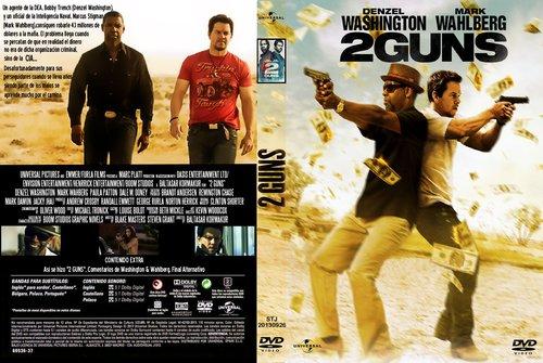 PB | DVD Cover / Caratula FREE: 2 GUNS - DVD COVER 20132 Guns Blu Ray Cover